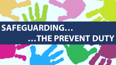 Safeguarding and prevent duty graphic
