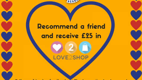 Get £25 by referring a friend!