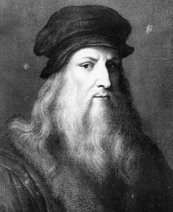 Leanardo Da Vinci portrait