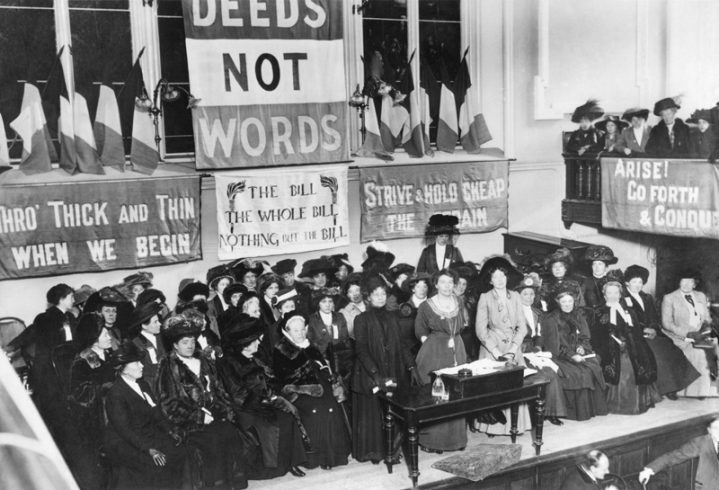 Suffragettes movement