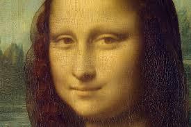 Mona Lisa face