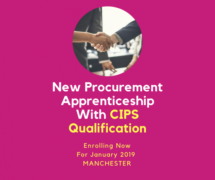 Procurment graphic with cips qualification