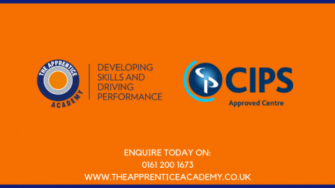 Apprentice Academy and CIPS Approved Centre logos