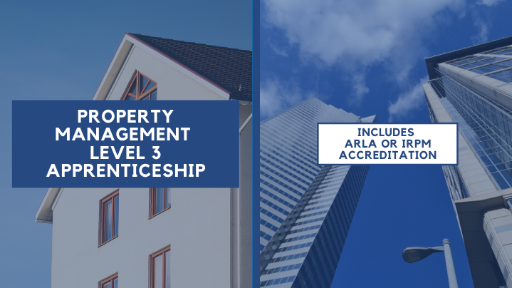 Property Management graphic, includes IRPM qualifications