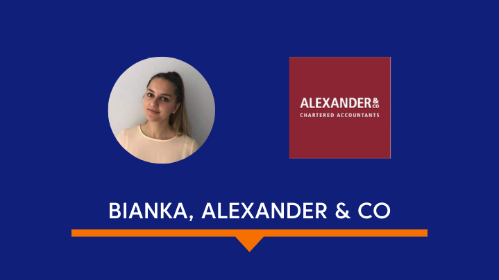 Image of Bianka from Alexader & Co, winner of first prize